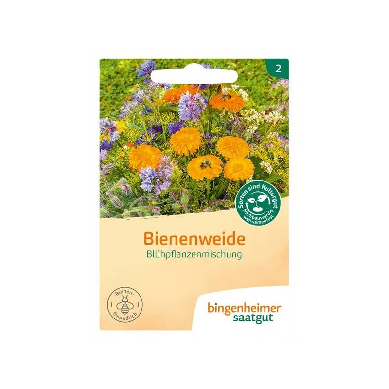 Blühpflanzenmischung Saatgut Bienen