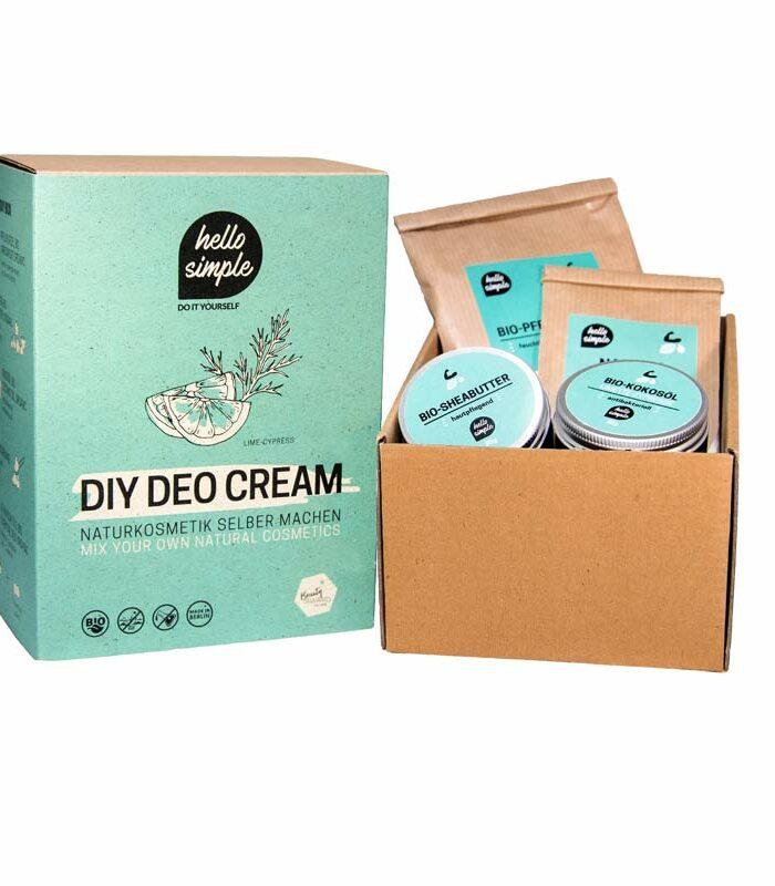 DIY-Box Deocrem: Vegane, Zero Waste Naturkosmetig zum Selbermachen, plastikfrei