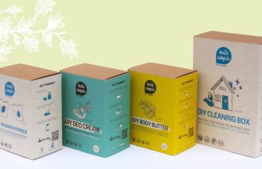 DIY Boxen Ostergeschenk
