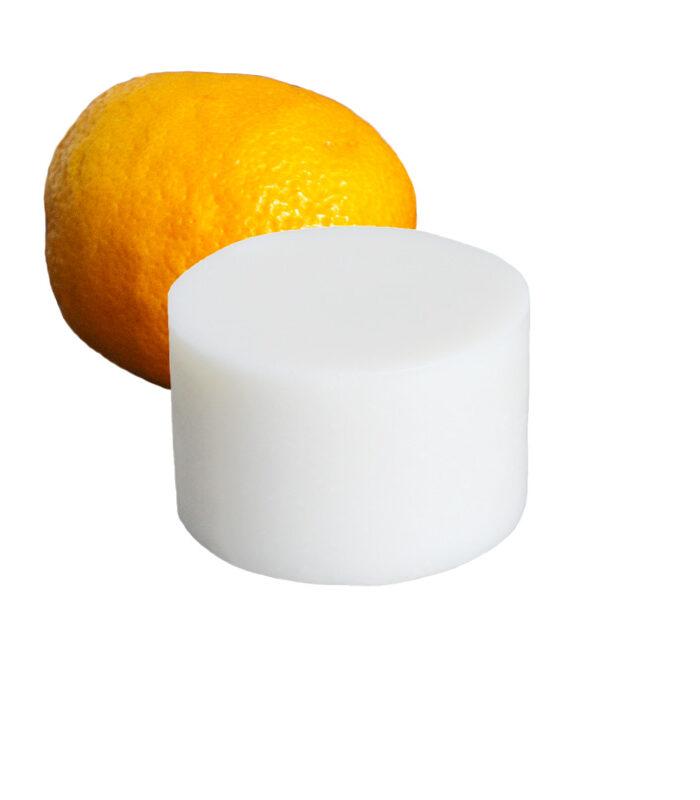rundes festes spülmittel mit Orangenduft