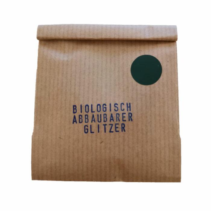Glitzer, Grün, biologisch abbaubar