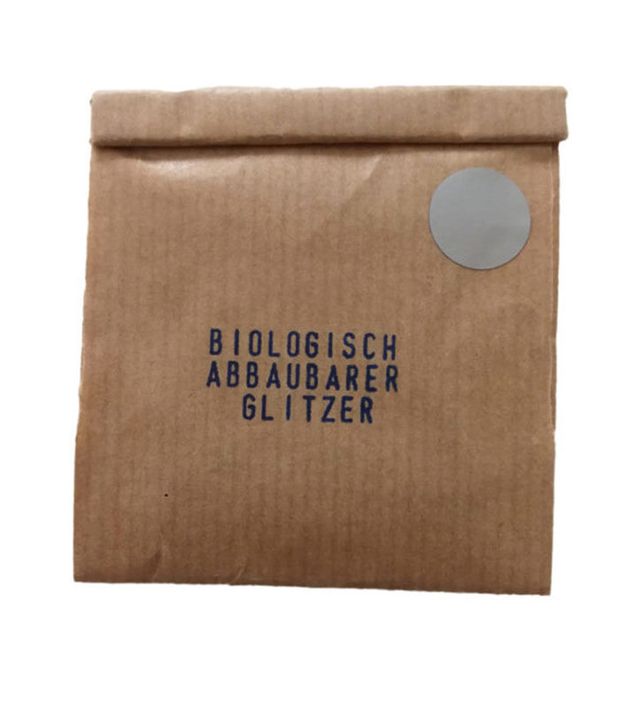 Glitzer, Silber