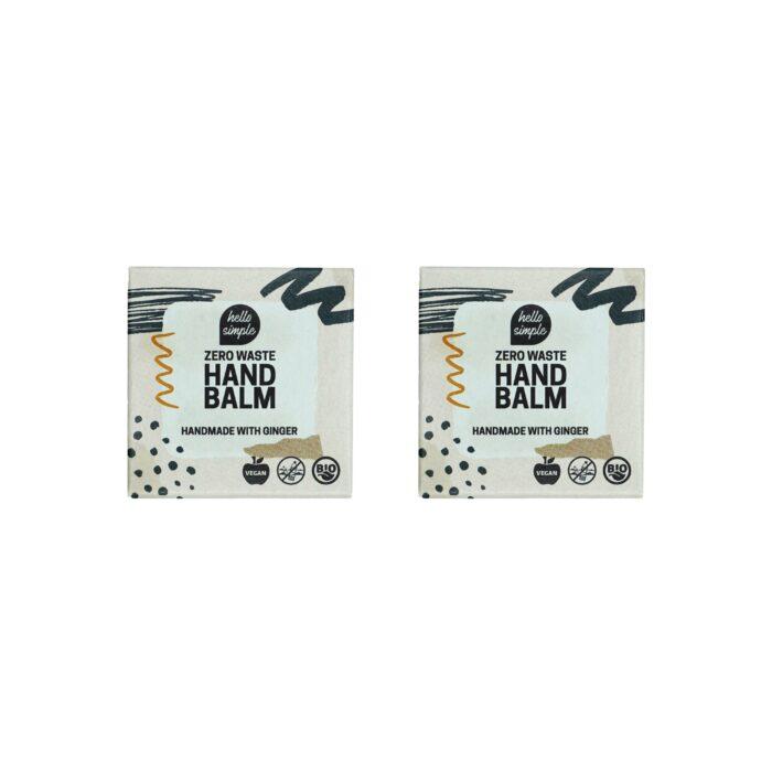 2er-Set Zero Waste Handbalm für weiche gepflegte Hände.