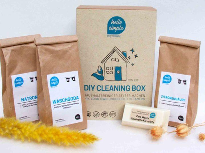 Tipps und Tricks für umweltfreundliches Putzen – DIY Putzbox