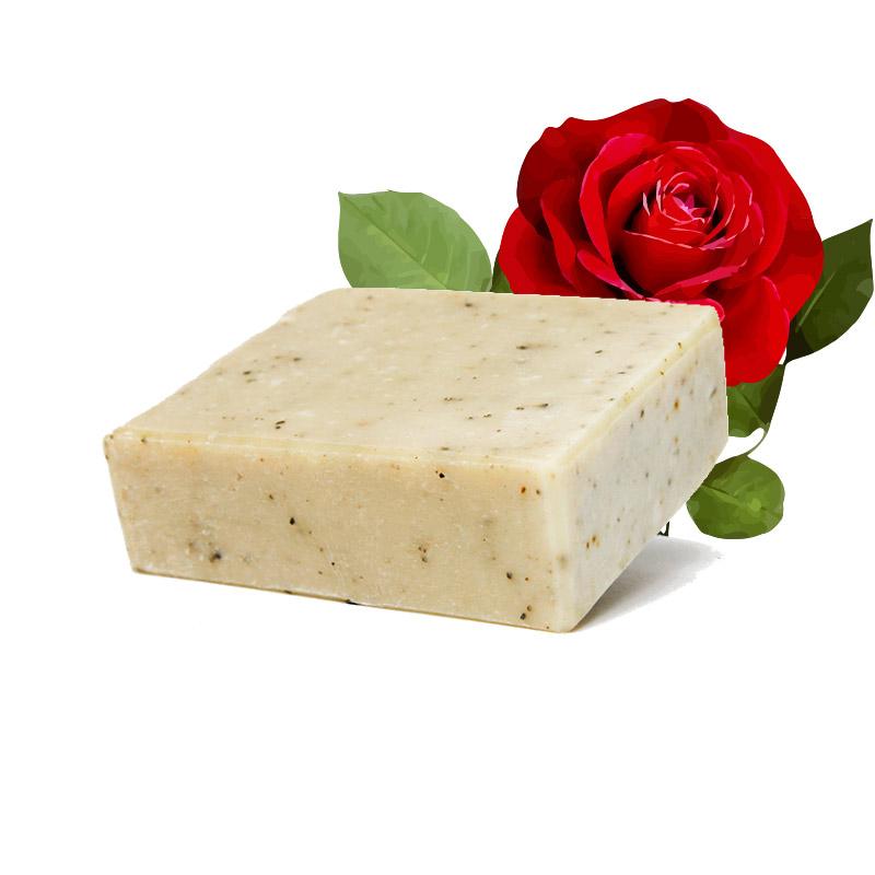Die Rosenseife mit echtem Rosenöl wird in Berlin handgefertigt und ist besonders für zarte, empfindliche und sensible Haut geeignet.