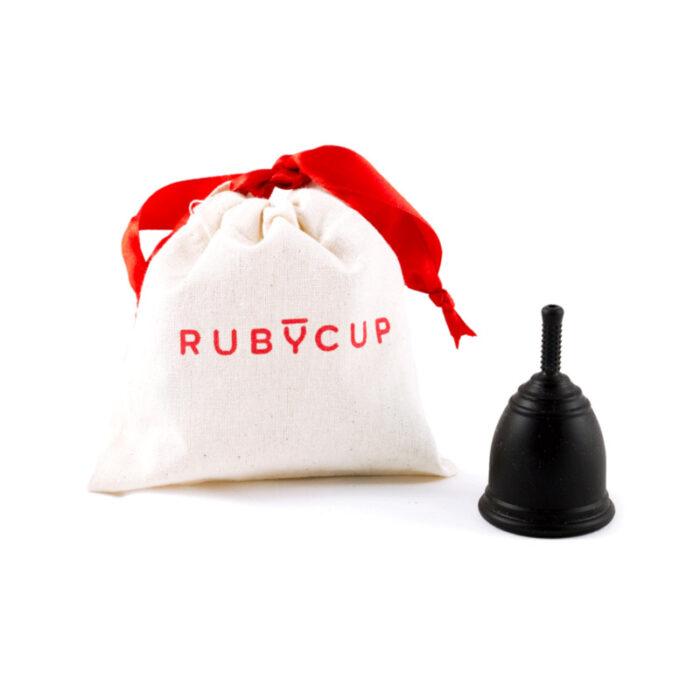 Menstruatuonstasse, klein odermittel von Ruby Cup 100% medizinisches Silikon