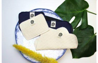 Spüllappen und Spülschämme auf Bio-Baumwolle