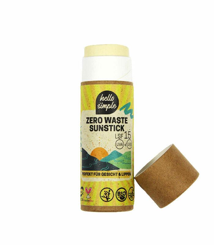 Zero Waste Sunstick LSF 15