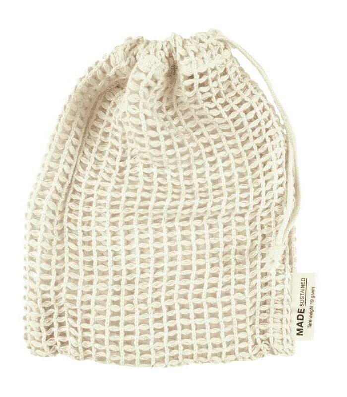 Seifensäckchen und Wäschesäckchen aus Bio-Baumwolle