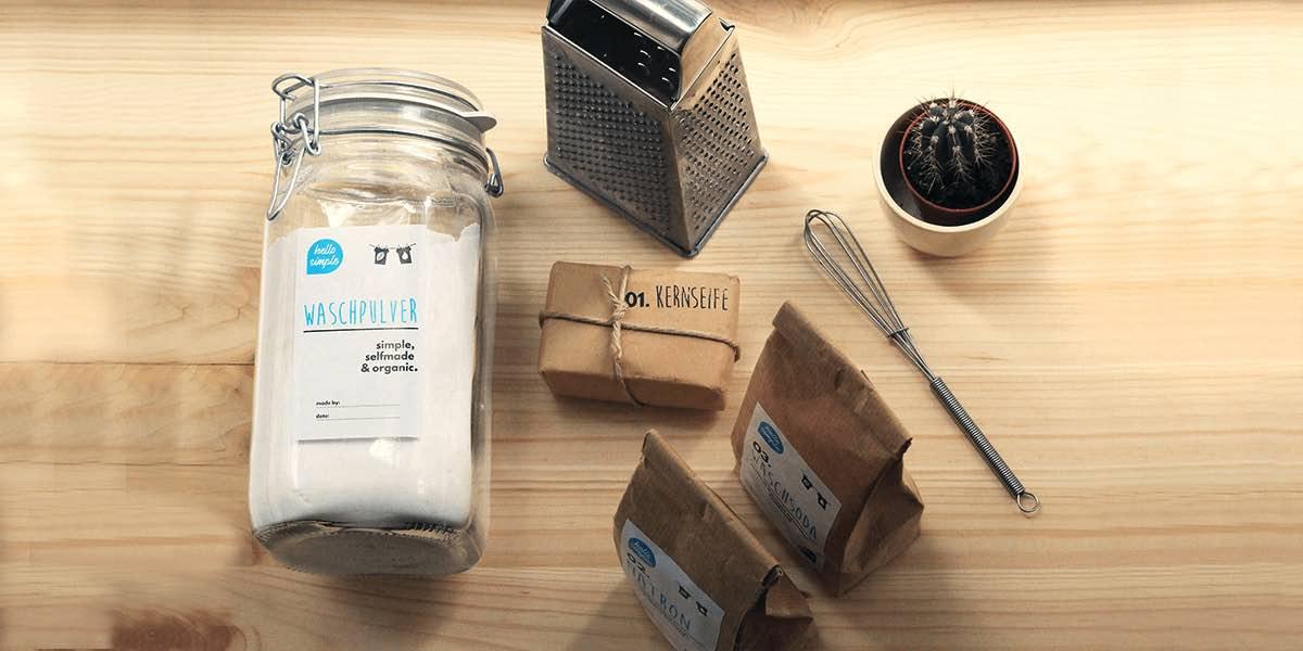 Waschpulver selber machen: schnelles und einfaches DIY