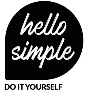 Logo hello simple