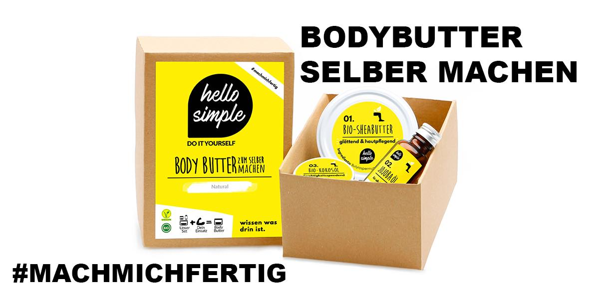 Body Butter selber machen: Naturkosmetik DIY